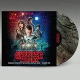 Stranger Things Soundtrack Vol. 1 (clear With Black Smoke Colored Vinyl) Indie Exclusive