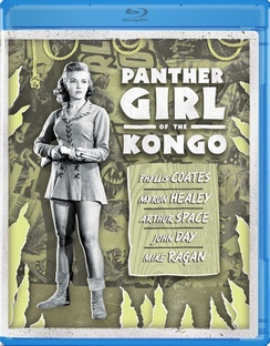 Panther Girl Of The Kongo Coates Healy Blu Ray Nr