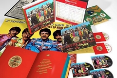Beatles Sgt. Pepper's Lonely Hearts Club Band Anniversary Super Deluxe Edition 6 Discs