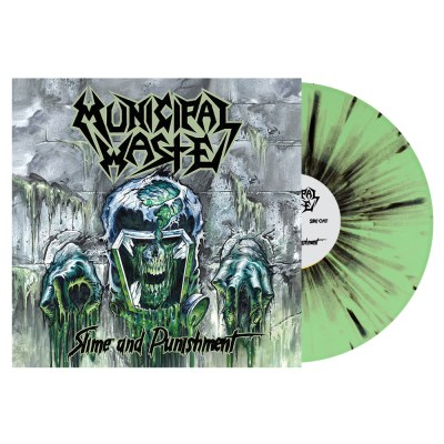 Municipal Waste Slime And Punishment (mint Black Splatter Vinyl) Indie Exclusive Ltd To 500 Copies