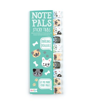 Note Pals Sticky Tabs Darling Doggies
