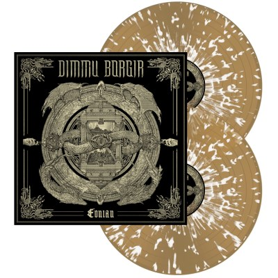 Dimmu Borgir Eonian (beer & White Splatter) Beer & White Splatter Vinyl Indie Exclusive Ltd To 500