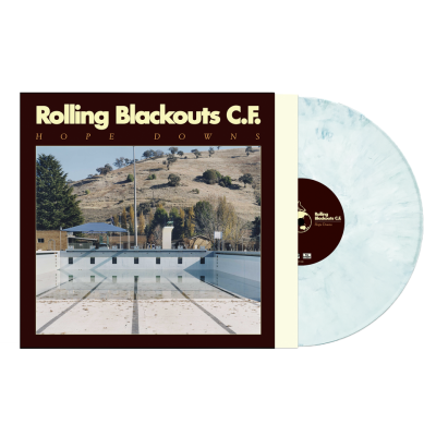 Rolling Blackouts Coastal Fever Hope Downs (loser Edition Ice Blue Colored Vinyl)