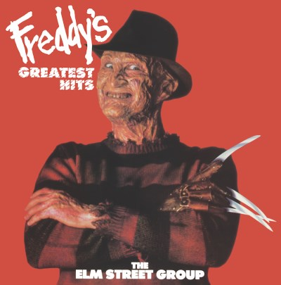 Elm Street Group (featuring Robert Englund) Freddy's Greatest Hits Clear With Heavy Red Splatter Graywhale Exclusive Limited To 100 (one Per Customer!)