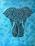 Tapestry King Elephant Single