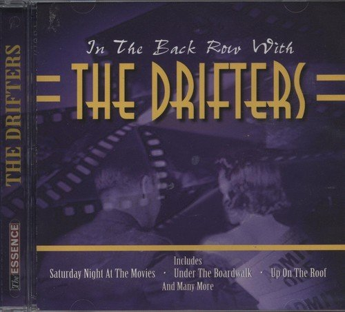 The Drifters In The Back Row With The Drifters