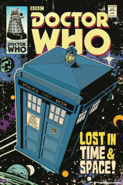 Poster Doctor Who Lost In Time & Space