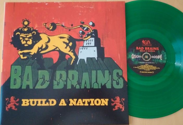 Bad Brains Build A Nation 10th Anniversary Edition (green Vinyl) Limited To 1000 Copies