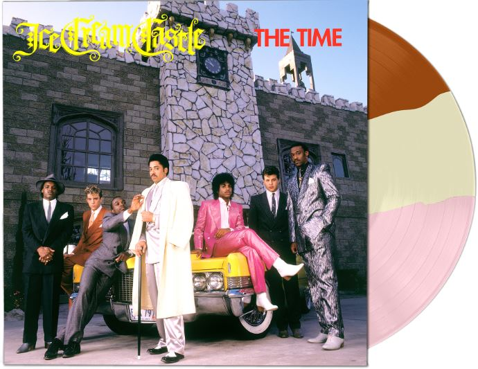 The Time Ice Cream Castle Neapolitan Split Color Vinyl Back To The 80's Exclusive