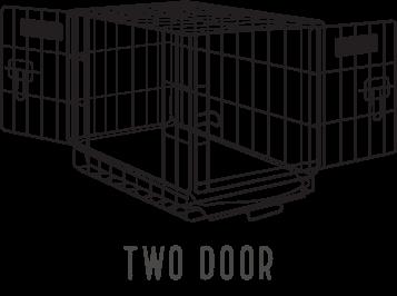 Two-Door Crates
