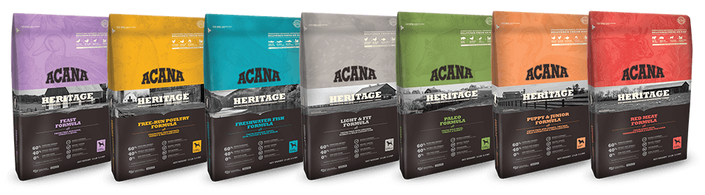 Acana Heritage Dog Food Bags