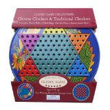 Board Game Chinese Checkers & Traditional Checkers