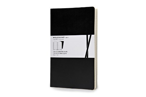 moleskine-large-volant-journals-ruled-black-set-of-2