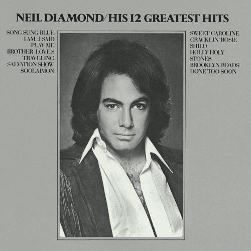 Neil Diamond His Twelve Greatest Hits 24k Gold Masterdisc