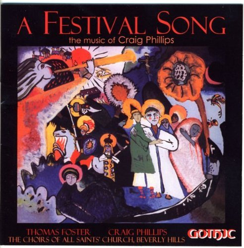 C. Phillips Festival Song Phillips (org) Foster Choir Of All Saints' Ep