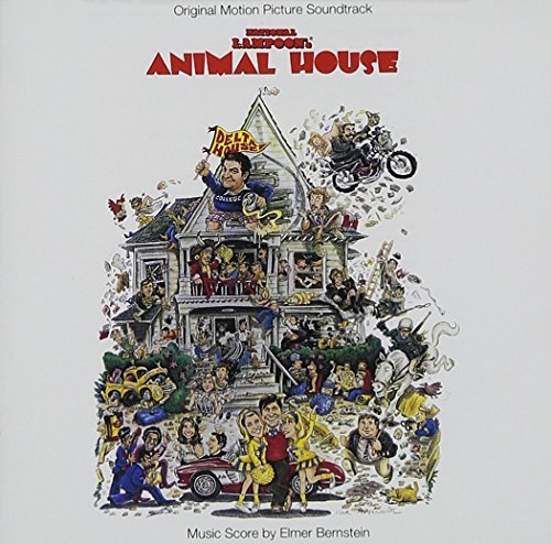 Animal House 20th Anniversary Soundtrack Remastered Enhanced CD Cooke Lewis Day Belushi