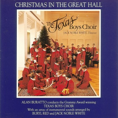 Texas Boys Choir Christmas In The Great Hall Buratto Texas Boys Choir
