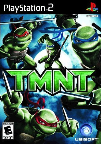Ps2 Teenage Mutant Ninja Turtles