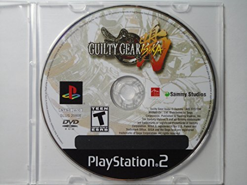 Ps2 Guilty Gear Isuka