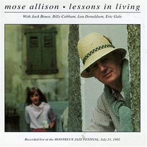 Mose Allison/Lessons In Living