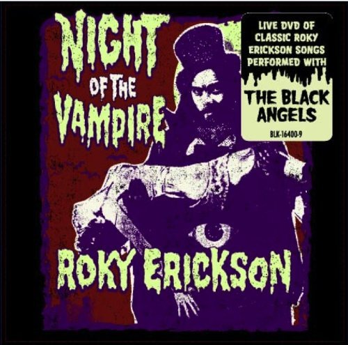 Roky With The Black A Erickson Night Of The Vampire