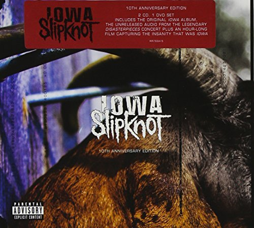 Slipknot Iowa Special Edition Explicit Version Special Ed. 2 CD Incl. DVD