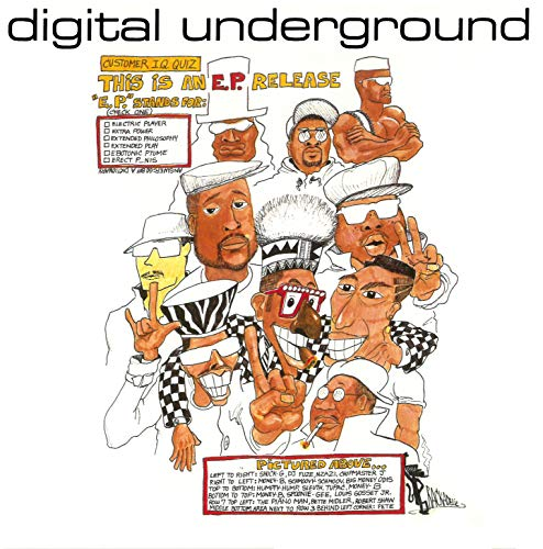Digital Underground This Is An Ep Release