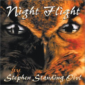 Stephen Standing Owl Night Flight