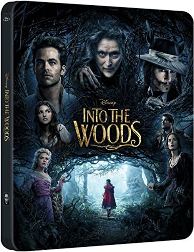 Into The Woods Into The Woods Import Gbr Limited Edition Steelbook