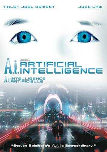 A.I. Artificial Intelligence Osment Law O'connor Robards DVD Pg13