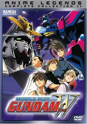 Gundam Wing Anime Legends Complete Collect Clr Jpn Lng Eng Dub Sub Nr 5 DVD