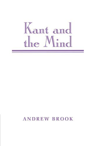 Andrew Brook Kant And The Mind