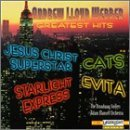Lloyd Webber Andrew Greatest Hits Jesus Christ Super Star Cats Starlight Express Evita