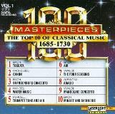 100 Masterpieces Vol. 1 Top Ten Of 1685 1730 Kastner Meyer Meisen Pommer & Winschermann Various