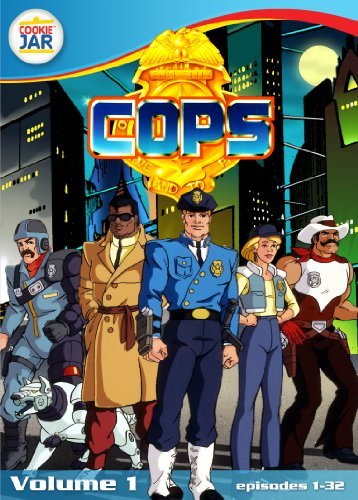 Vol. 1 C.O.P.S. The Animated Series Tvy7 3 DVD
