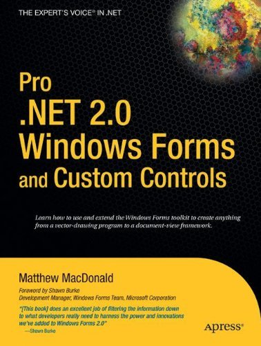 Matthew Macdonald Pro .Net 2.0 Windows Forms And Custom Controls In Corrected Cor