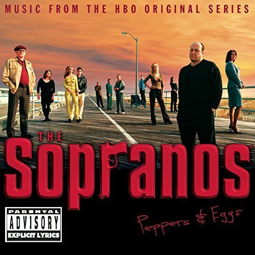 Sopranos Peppers & Eggs Television Soundtrack Explicit Version 2 CD Set