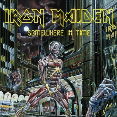 Iron Maiden Somewhere In Time Incl. Booklet