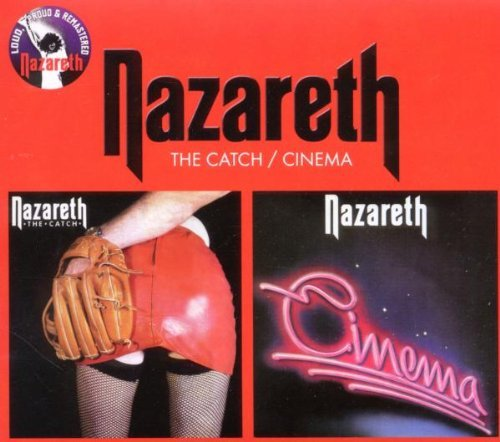 Nazareth Catch Cinema Import Gbr 2 CD Digipak Remastered