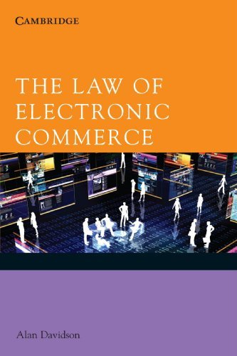 Alan Davidson The Law Of Electronic Commerce