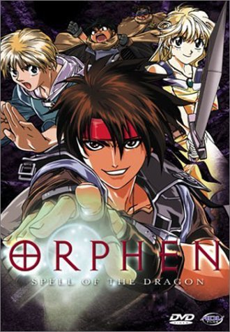 Orphen Vol. 1 Spell Of The Dragon Clr Jpn Lng Eng Dub Sub Nr