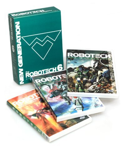 Robotech New Generation Legacy Collection 6 Clr Eng Dub Nr 3 DVD