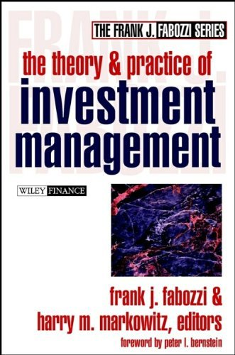 Frank J. Fabozzi Theory And Practice Of Investment Management The