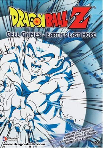 Dragon Ball Z Cell Games Earth's Last Hope Clr Nr Uncut