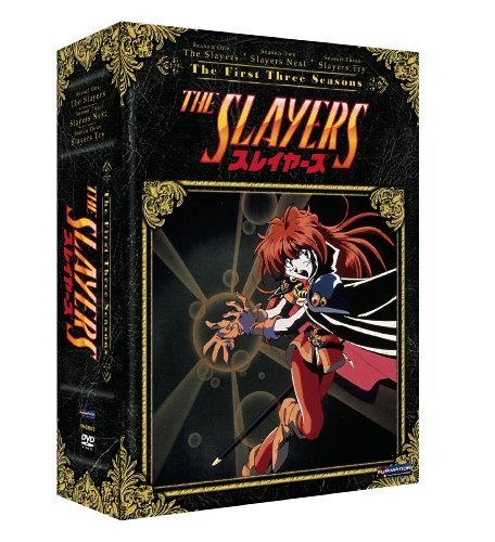 Slayers Season 1 3 Slayers Tvpg 12 DVD