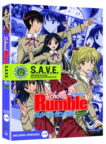 School Rumble Season 2 Box Se School Rumble Tvma 4 DVD