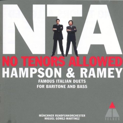 Hampson Ramey No Tenors Allowed Hampson (bar) Ramey (b Bar) Gomez Martinez Munich Rad Orch
