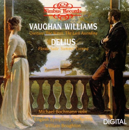 Vaughan Williams Delius Florida Suite Lark Ascending Bochman*michael (vn) Boughton English Str Orch