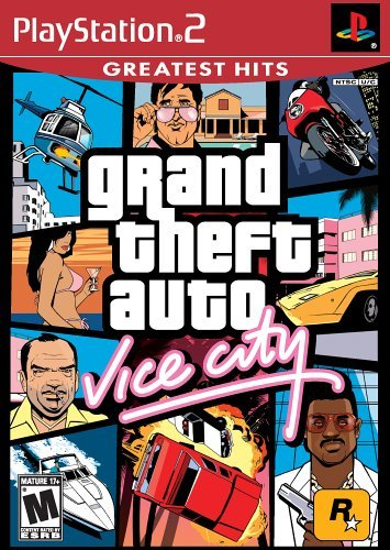 Ps2 Grand Theft Auto Vice City M