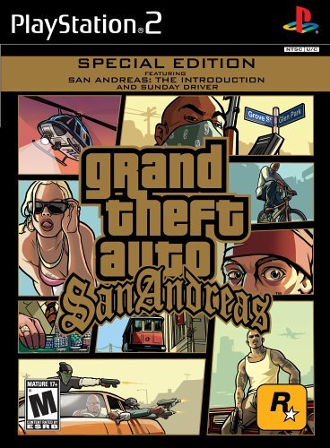 Ps2 Grand Theft Auto San Andreas Mature Rated Version